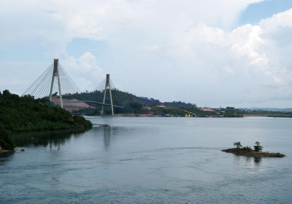 Jembatan i barelang tak dari jembatan ii