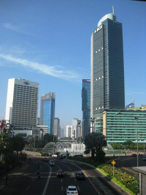 Megahnya Jakarta (saat tidak macet)