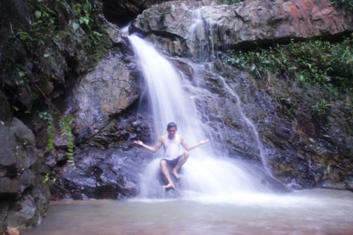 this is it.. air terjun bawah