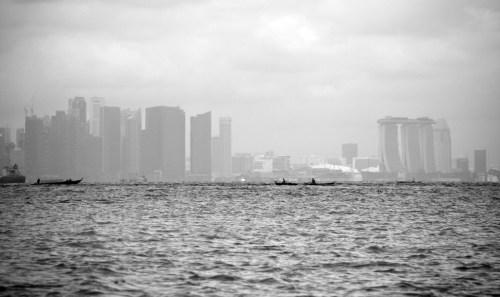 Singapura di-zoom maksimal + effect