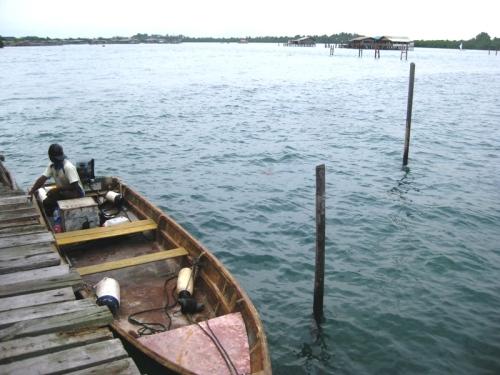 pancung untuk ke pulau lengkana