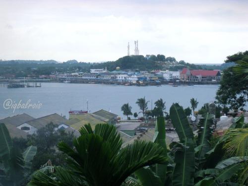belakang padang tampak dari pulau sambu