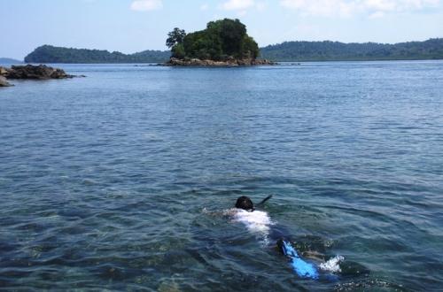 Snorkeling di Pulau Abang, Batam