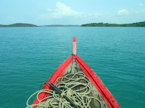 menuju laut