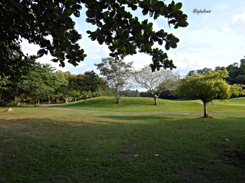 diapit lapangan golf